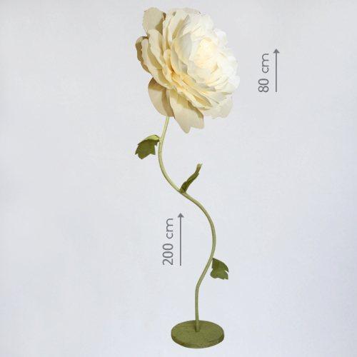 """Бумажный цветок """"Чайная роза"""""""