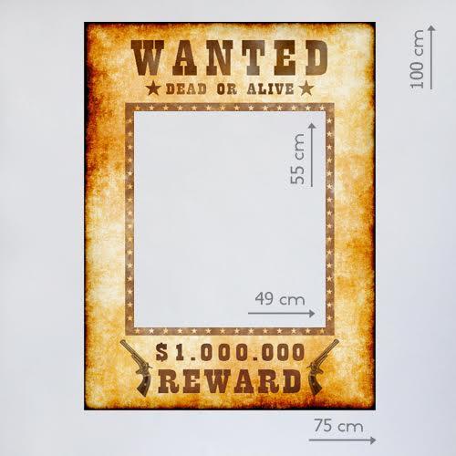 """Фоторамка """"Wanted"""""""
