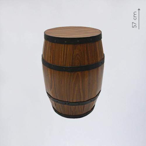 Пластиковая бочка - 57 см