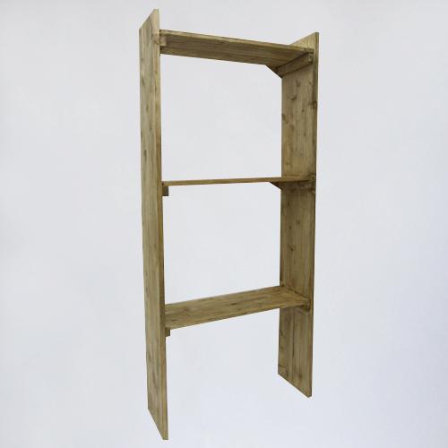 """Стеллаж деревянный """"Берёзкино"""""""