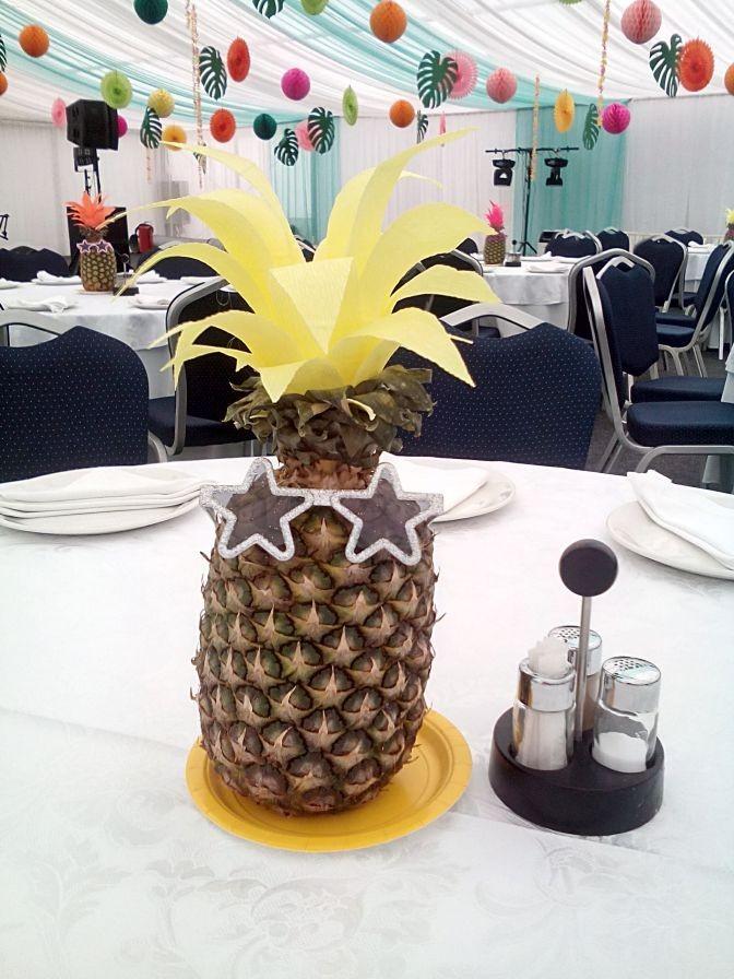 Корпоратив в стиле Гавайской вечеринки