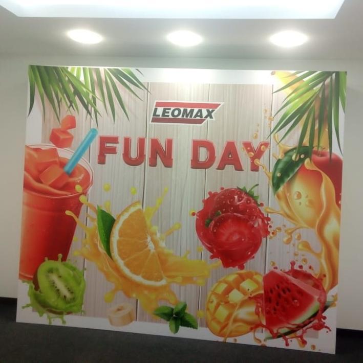 Оформление Fun Day в компании LEOMAX