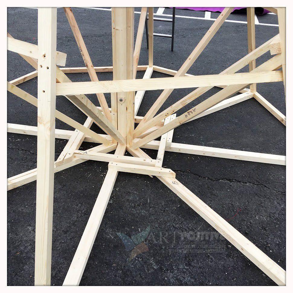 Изготовление Масленицы 6.5 метров
