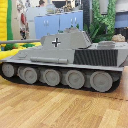 макет танка